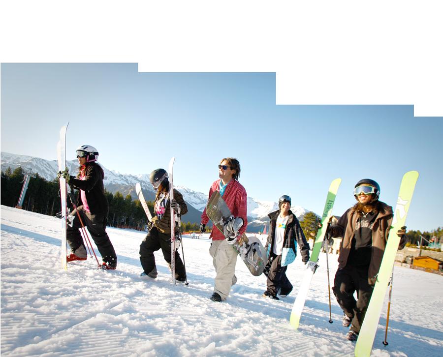 Esquí para grupos